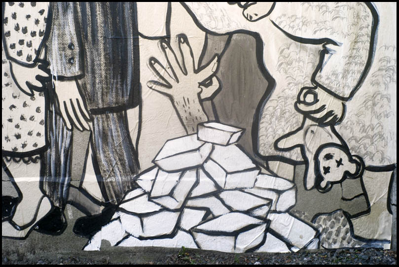Fresque de Ella et Pitr